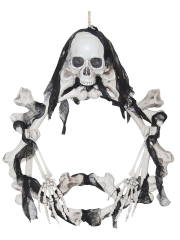 Bone Wreath Light-Up