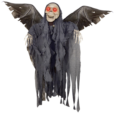 "48"" Animated Winged Reaper"