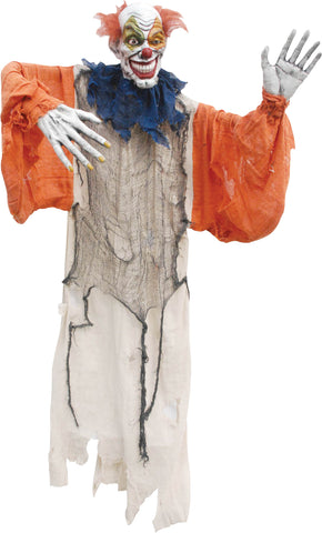 "60"" Hanging Creepy Clown"