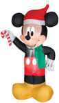 Airblown Mickey Mouse Santa with Candy Inflatable