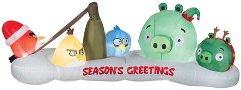 10' Airblown Angry Birds Scene Inflatable