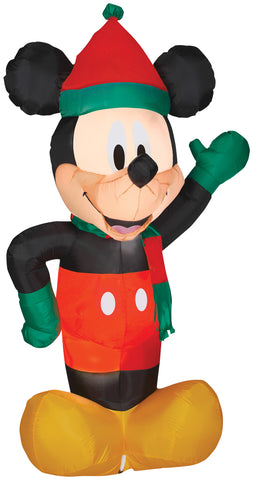 Airblown Mickey Holiday Inflatable