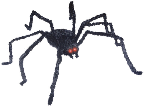 "49"" Animated Black Spider"