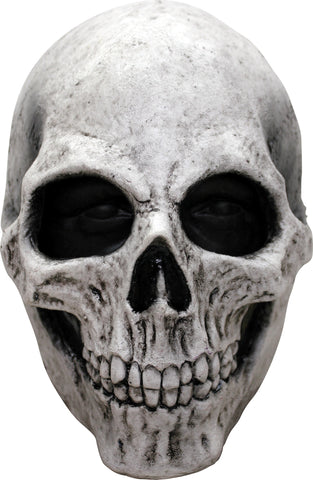 White Skull Latex Mask