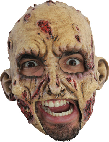 Zombie Latex Chinless Mask