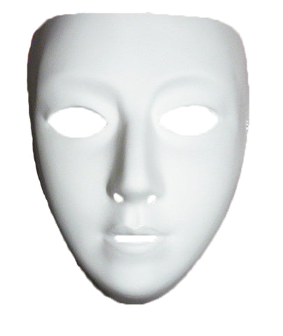 Women's Blank Female Mask