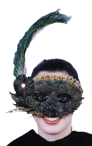 Women's 20s Style Feather Mask