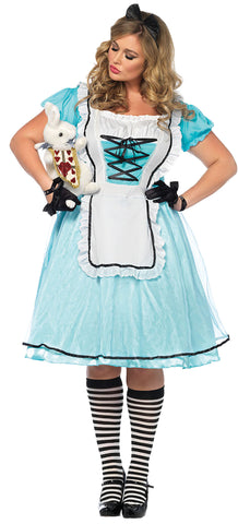 Women's Plus Size Tea Time Alice Costume