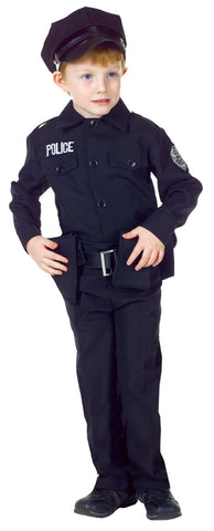 Boy's Policeman Set Costume