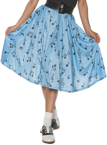 50s Musical Note Skirt