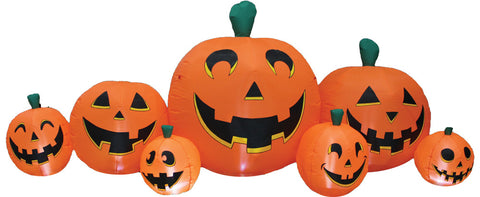 Pumpkin Patch 8.5' Long Inflatable