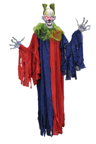"60"" Hanging Evil Clown"