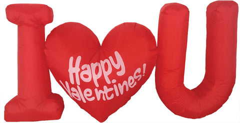 4' Inflatable Valentines Day with LED Light