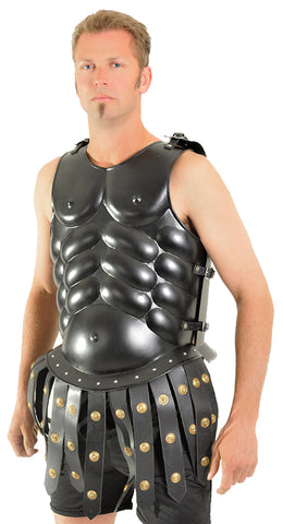 Skirted Muscle Armor Black