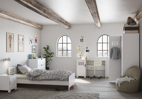 Steens White Bedroom Furniture Collection-Better Store