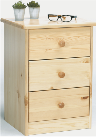 Wooden Bedside Table-Better Store
