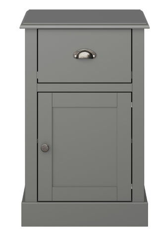 Light Grey Bed Side Table-Better Store