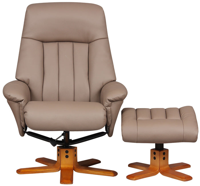 GFA St Tropez Recliner And Foot Stool
