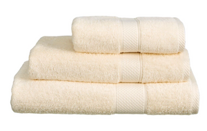 Imperial Bath Towels Pack Of 3 Cream-Better Bed Company
