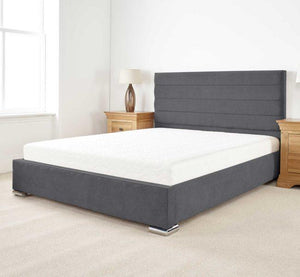 Aspire Furniture Stocksmoor Fabric Bed-Better Store