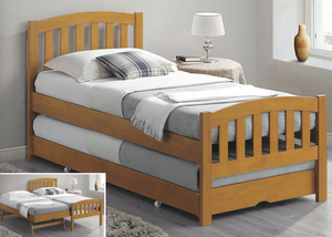 Bedmaster Blake Oak Guest Bed-Better Bed Company