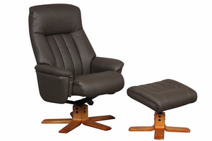 GFA St Tropez Recliner And Foot Stool-Recliners-Better Bed Company