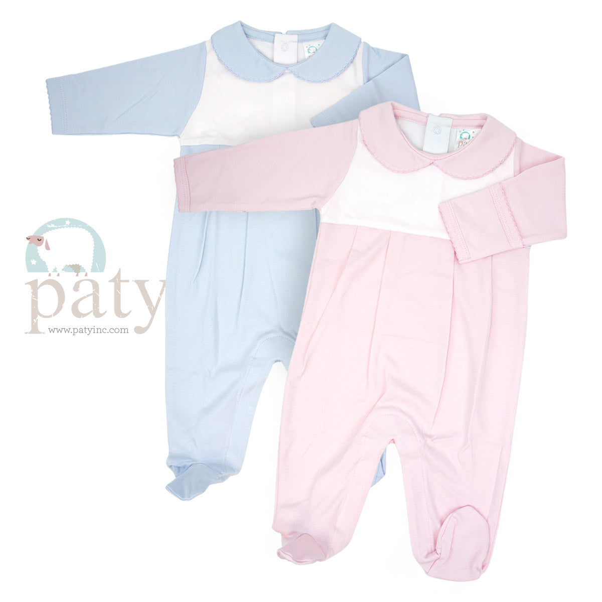 LS FOOTED ROMPER