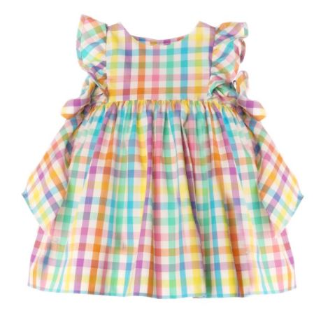 FRUIT SALAD DRESS WITH BOWS