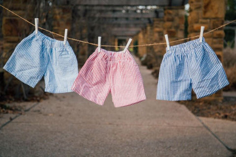 BOYS SEERSUCKER & GINGHAM SHORTS