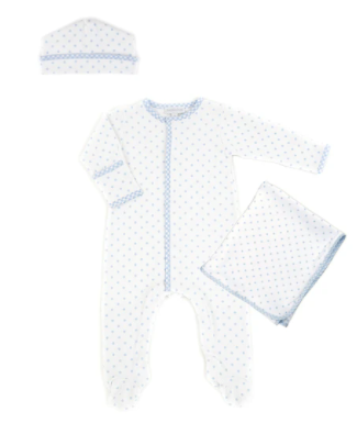 GINGHAM DOTS ESSENTIALS GIFT SET