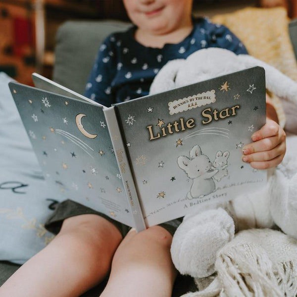 LITTLE STAR BOARD BOOK & WEE BLOOM BUNNY GIFT SET