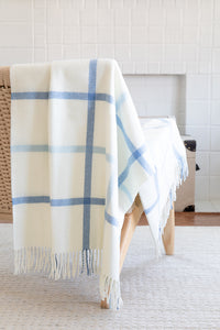 TATTERSALL PLAID THROW