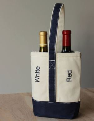 TWO BOTTLE WINE CARRIER