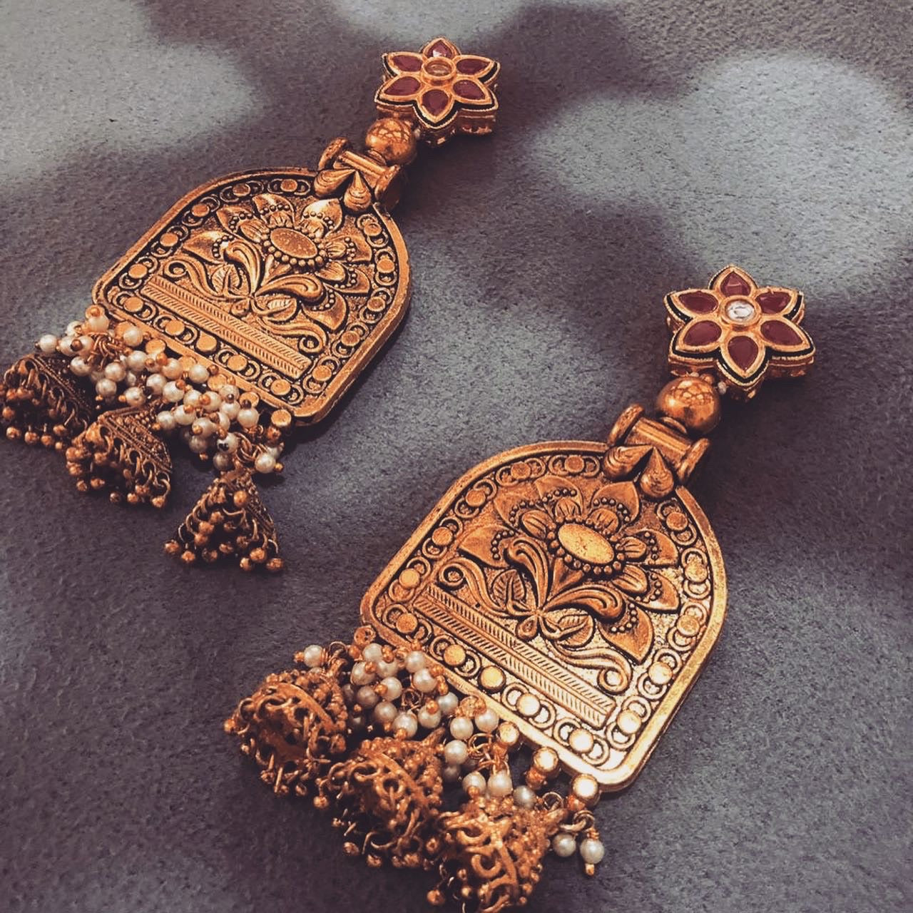 Mehraab Earrings