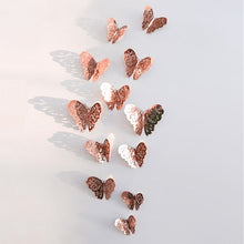 Load image into Gallery viewer, 3D Butterfly Wall Sticker