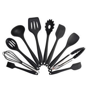 Heat Resistant Silicone Cookware Set