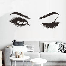 Load image into Gallery viewer, Lash & Brows Eyes  Wall Stickers