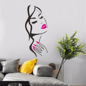 Lash & Brows Eyes  Wall Stickers