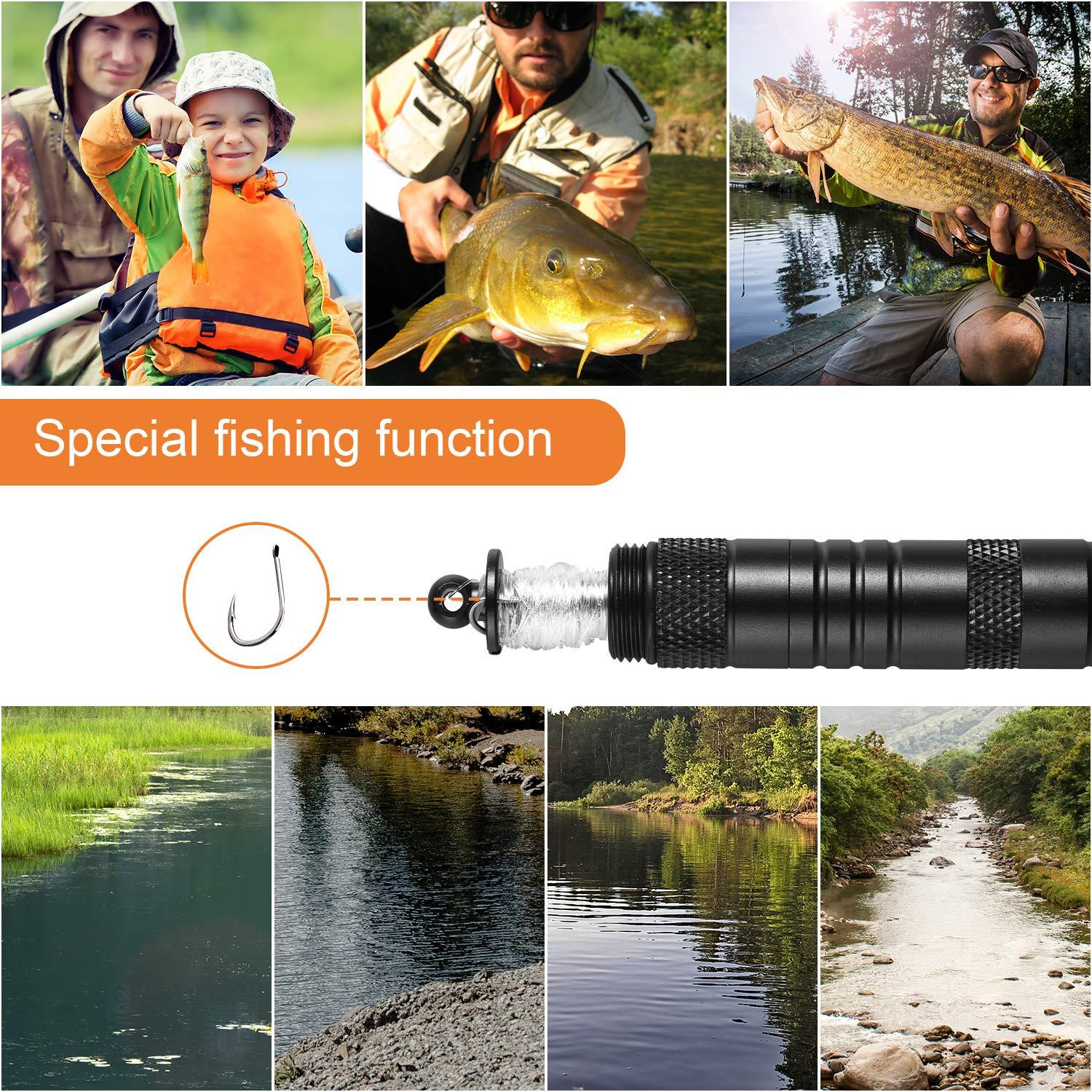 Multifunctional fishing tool-can fire