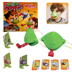 The new lizard mask tongue out interactive toy