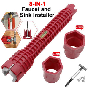8 In 1 Faucet And Sink Installer Tool