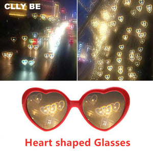 Christmas Eve Christmas tree special effects glasses