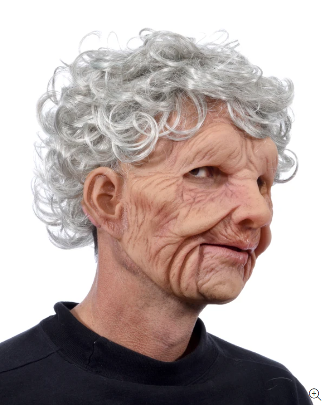 Best Masks For Halloween-Grandmothers and grandfathers