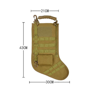 【HOT SALE!!!!,BUY 2 FREE SHIPPING !!!】Tactical Christmas Stocking