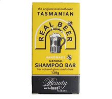 Load image into Gallery viewer, Tasmanian Beer Shampoo Bar 120g