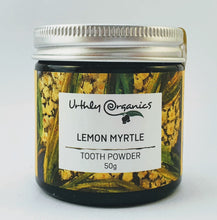 Load image into Gallery viewer, strippd life australia tooth powder lemon myrtle