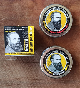 Professor Edward J Fuzzworthy- Beard Grooming Pack