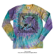 Load image into Gallery viewer, Positive Vibes Only ☮  Power Of Positivity - Long Sleeve Tee