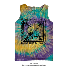 Load image into Gallery viewer, Positive Vibes Only ☮  Power Of Positivity - Unisex Tank Top Tee