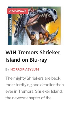 Tremors Giveaway